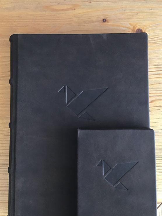 Gesamtausstattung Leder Weinbuch Rechnungskassette